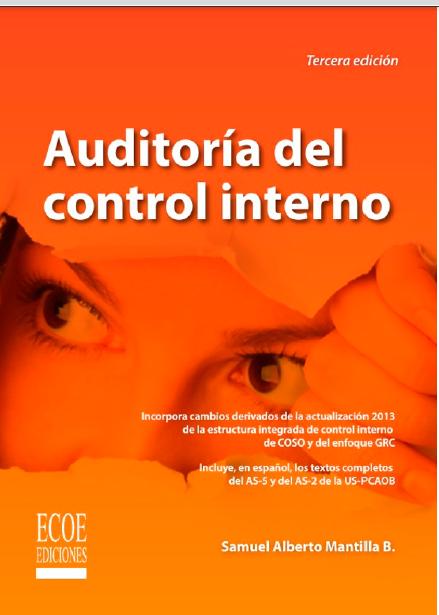 auditoria del control interno Tercera edición